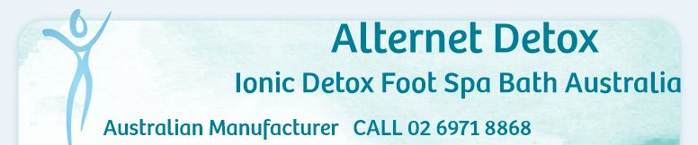 Ionic Detox Foot Bath - your body in balance     1300 212 498
